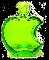 Флакон для наливной парфюмерии цветной Эпл 15 мл комплектация металлический спрей комплектация спрей зеленый