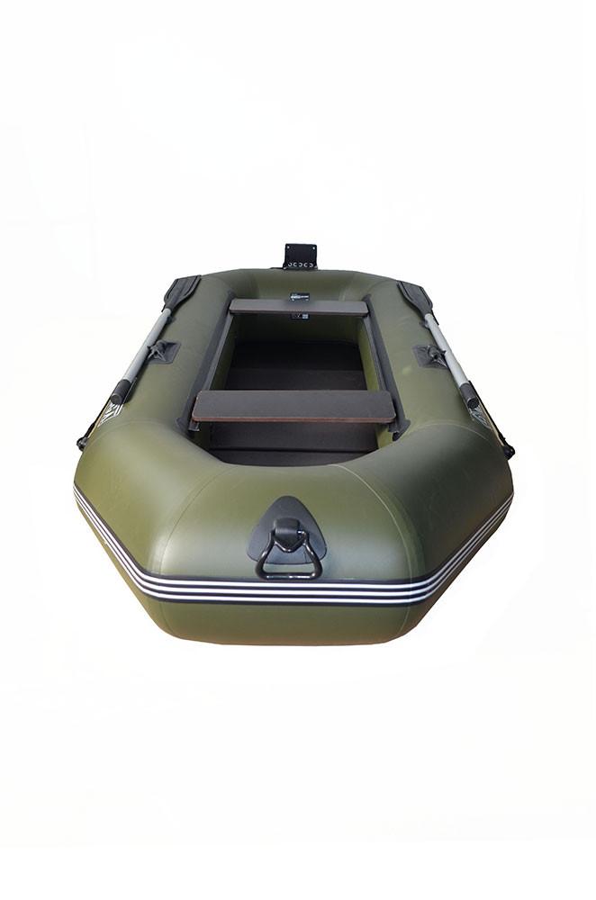 Гребная двухместная лодка с транцем Q280LSTP(PS)