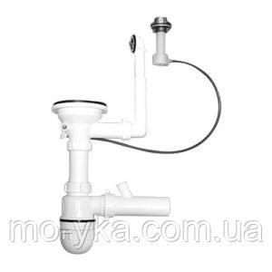 Сифон экцентрик для кухонной мойки  Ukinox S701KP