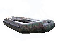 Гребная двухместная лодка  Q280LST(PS)камо, фото 1