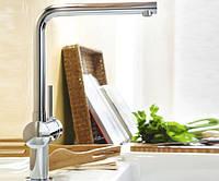 Смеситель для кухонной мойки с высоким изливом Grohe Minta 31375000
