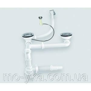 Сифон екцентрик для кухонной мойки Ukinox S805P