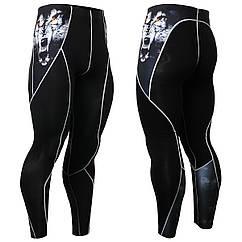 Компрессионные штаны FIXGEAR P2L-B18