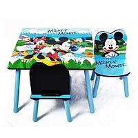 Деревянный столик со стульчиками BT-CWT-0004 Микки Маус