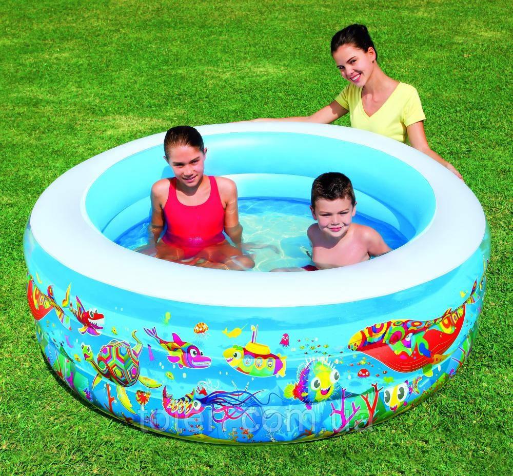 """Детский игровой бассейн """"Подводный мир"""", Bestway 51122"""
