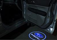 Подсветка дверей авто проектор логотипа автомобиля Subaru