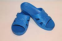 Сланцы женские синие, фото 1