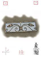 Кованые аксессуары для камина