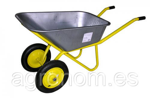 Тачка садовая Triton (желтая)