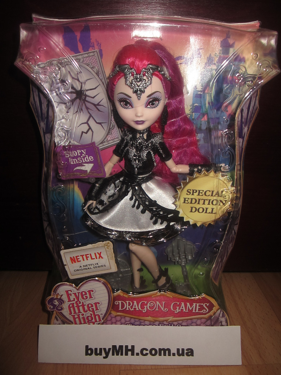 Кукла Мира Шардс Игры драконов Ever After High Dragon Games  Teenage Evil Queen Mira Shards, фото 1