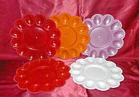 Тарелка для пасхи и пасхальных яиц пластик