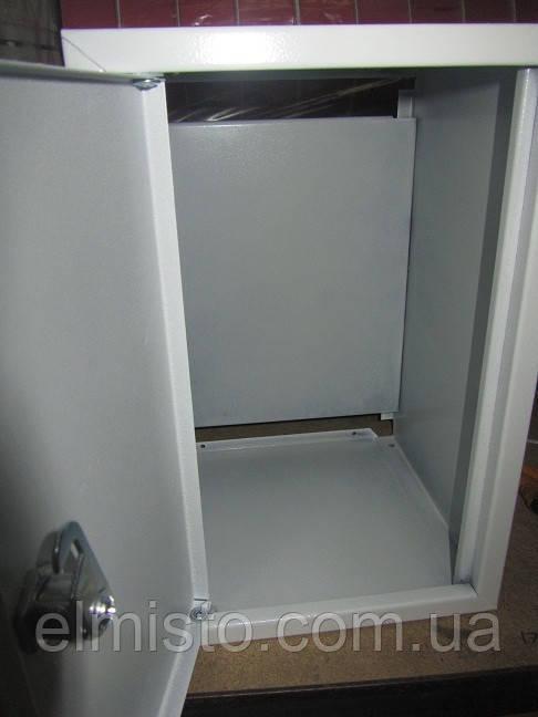 Бокс белый металлический 380-280-200 IP31