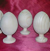 Яйцо-заготовка деревянное на подставке