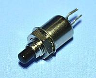 Кнопка без фиксации DS-402 OFF-(ON) 0.5A 125V черная