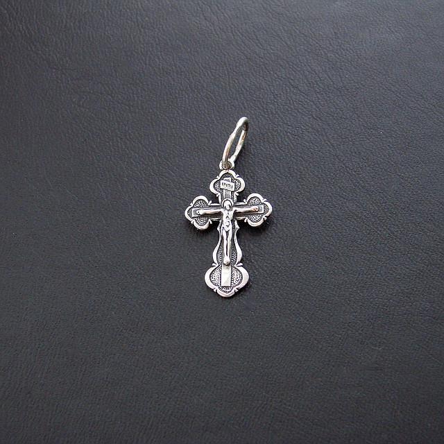 Серебряный крест серебро 925 пробы №4ч