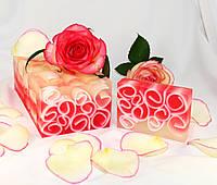 Мыло ручной работы нарезное Роза