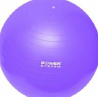 Мяч для фитнеса Power System ФИТБОЛ  55,65,75 см фиолетовый