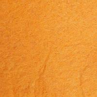 Фетр 1мм 100х85см оранжевый