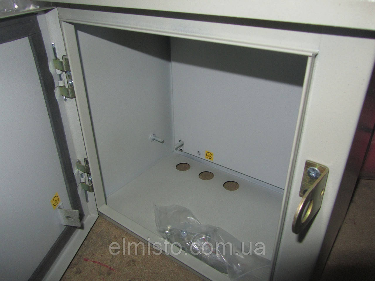 Бокс монтажный герметичный 300-300-180 IP54 уличный металлический