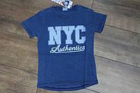 Футболка под- джинс - для мальчиков 4- 8 лет