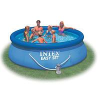 Надувной бассейн intex (366*91 см)