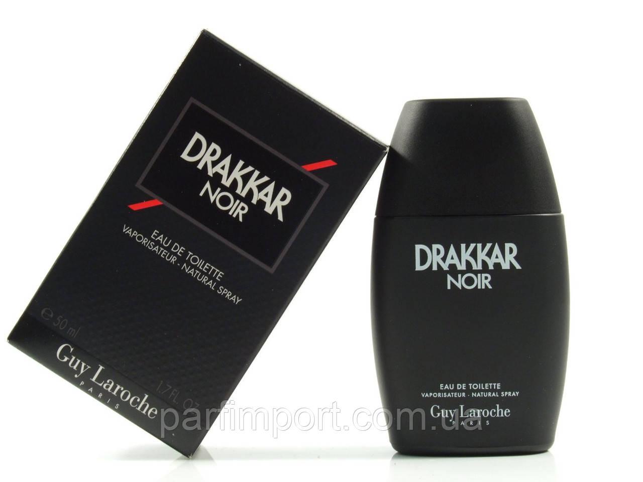 DRAKKAR NOIR EDT 50 ml Туалетна вода жіноча (оригінал оригінал Франція)