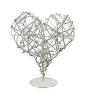 Декоративное сердце на подставке 29 * 30см