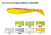Силикон Manns Mustang M-065 BR-Y (20шт)
