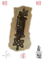 Дверные ручки из ковки