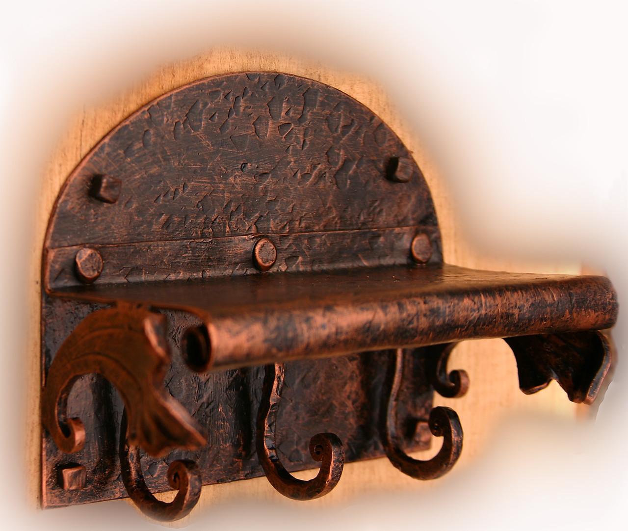 Кованая ключница