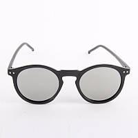 Модные очки ретро, панк стиль, черный цвет