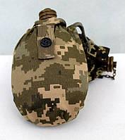 Фляга армейская в чехле, фото 1