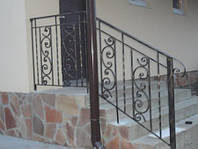 Перила балконные, лестничные