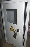 Щит ШМР-1ф-8А-Н э распределительный металлический для 1ф. электронного счетчика и 8 авт. выключателей навесной