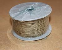 Шнур вощёный бежевый  3301  1  мм х 1 м, фото 1