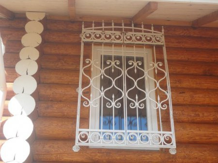 Решетка кованая на окно