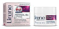 Лифтинг-крем с ретинолом концентрированный 55+, 50мл, Уход с 4D эффектом, Lirene, фото 1