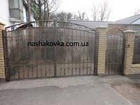 Ворота, забор, ограда