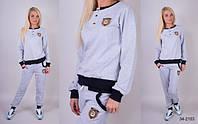 Спортивный костюм женский двунитка (цвета) СЕВ528