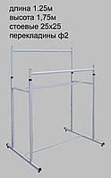 Торговое оборудование Стойка на две стороны 1.25м