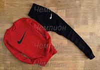Красный костюм Nike мужской