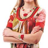 Украшения из бисера с цветочным орнаментом, фото 9