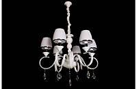 Люстра со стеклянными абажурами на шесть ламп LS5340-6