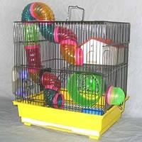 Золотая клетка 425В клетка для грызунов (35*28*37см)