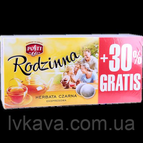 Чай черный Exspresowa  Rodzinna , 80 пак, фото 2