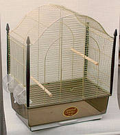 Золотая клетка VILLA Gold 50х31х65 см , клетка для птиц