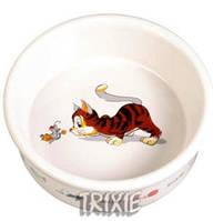 Trixie ТХ- 4007 Миска керамическая 0,2л /11 см  для кошек