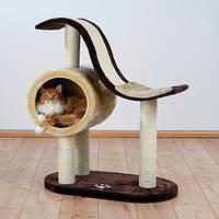 "Когтеточка,дряпка Trixie TX-44100 домик для кота ""Nerja"" (99cм, 77 × 41 см)"