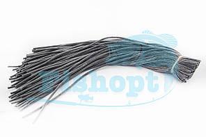 Ниппель силиконовый Черный 1m (100шт\уп)