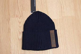 Мужская шапка с отворотом Калвин